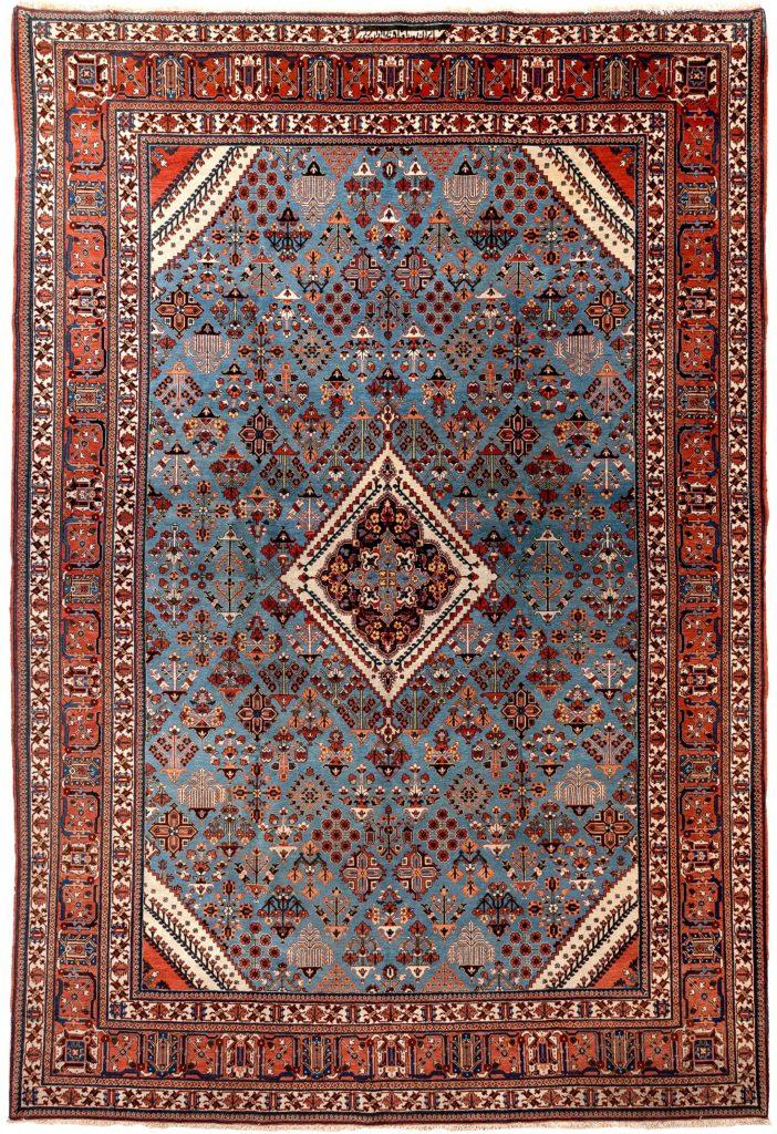 Fine Persian Joshagan Carpet at Essie Carpets, Mayfair London