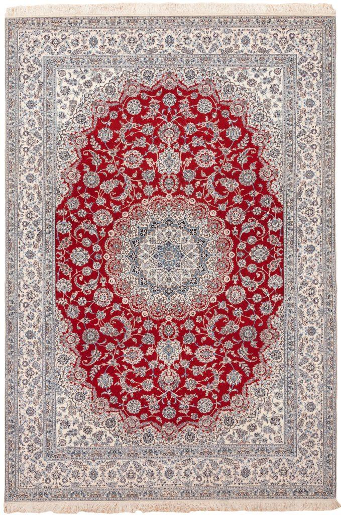 Fine Signed Persian Nain Carpet at Essie Carpets, Mayfair London
