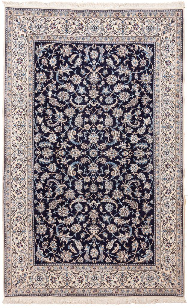 Fine Persian Nain Carpet at Essie Carpets, Mayfair London