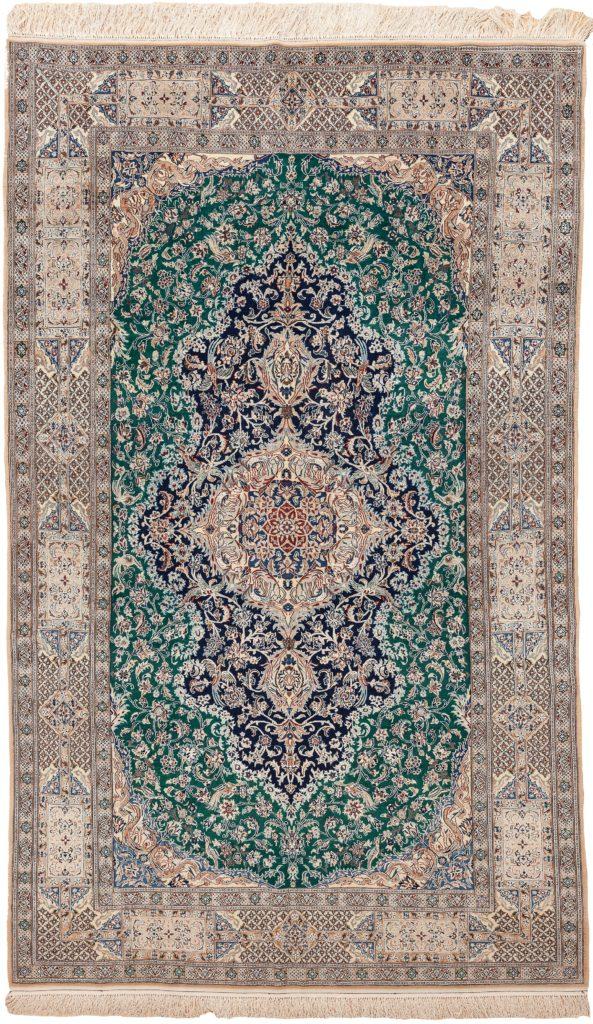 Fine Persian Nain Rug at Essie Carpets, Mayfair London