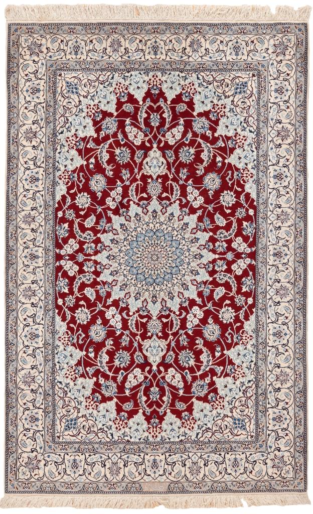 Fine, Signed Persian Nain Rug at Essie Carpets, Mayfair London