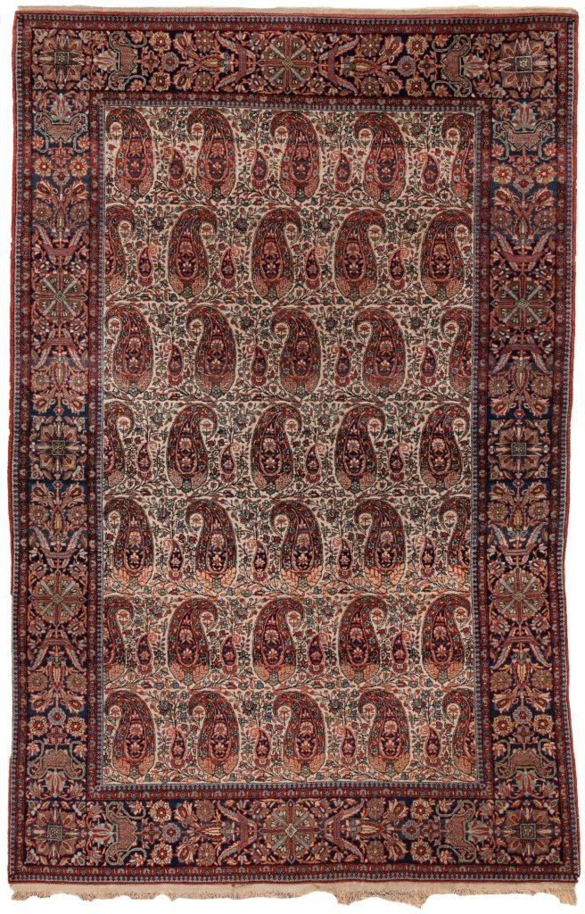 Persian Dorokhsh Rug at Essie Carpets, Mayfair London