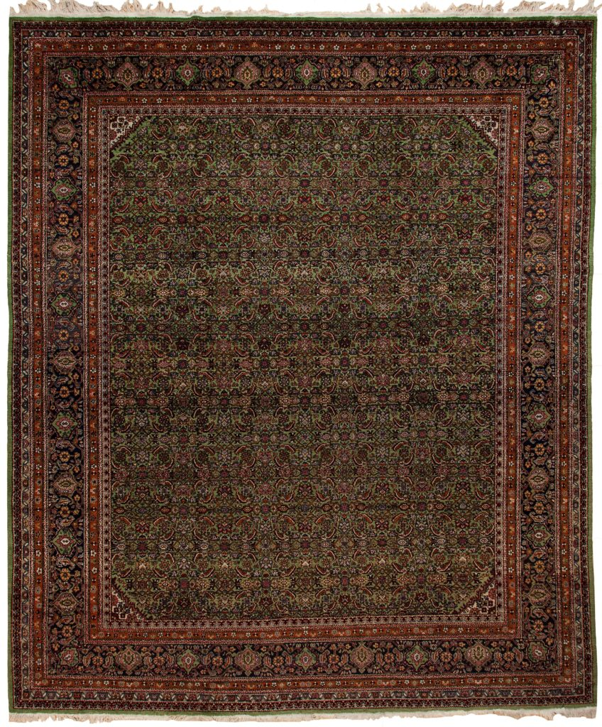 Antique Persian Dorokhsh Khorasan Carpet at Essie Carpets, Mayfair London