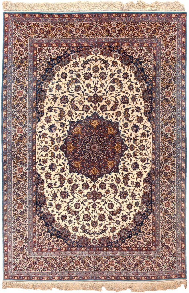 Very Fine Persian Kashan Carpet at Essie Carpets, Mayfair London