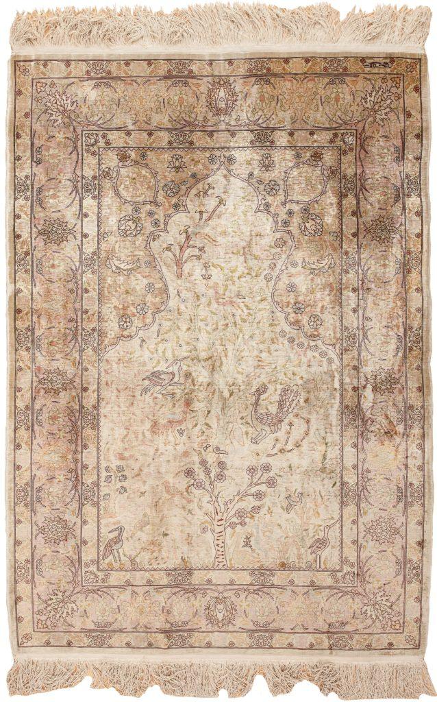 Very Fine, Signed Antique Hereke Rug at Essie Carpets, Mayfair London