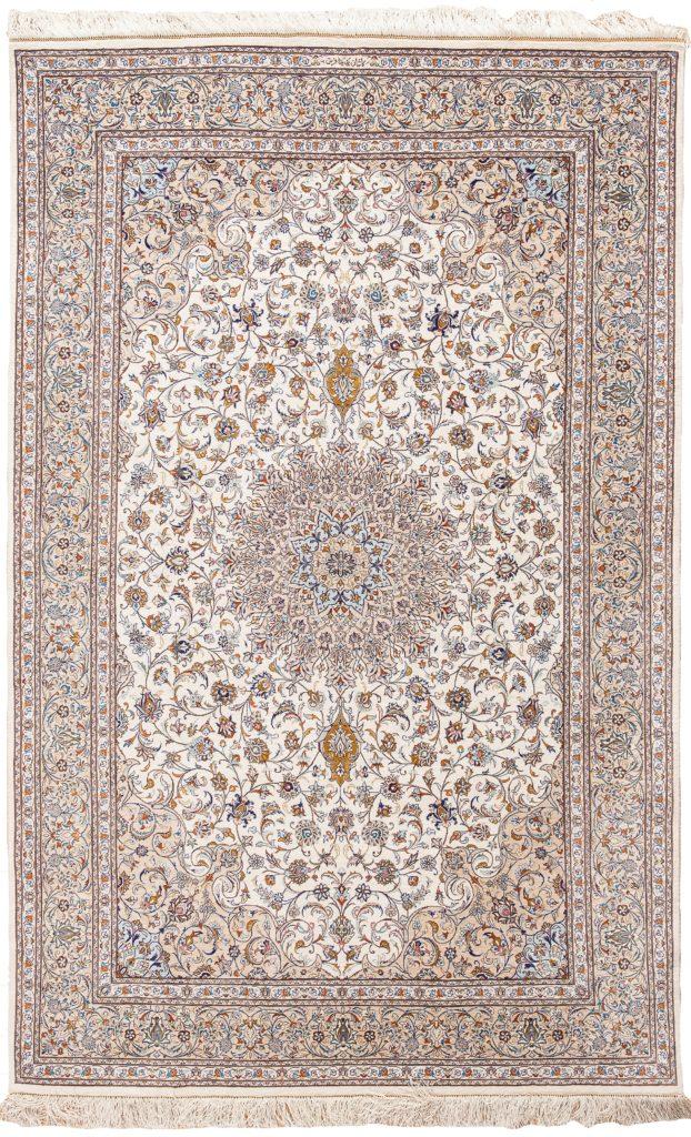 Fine Signed Persian Kashan Rug at Essie Carpets, Mayfair London