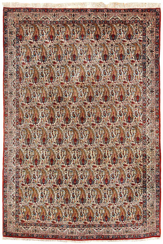 Fine Persian Qum Carpet at Essie Carpets, Mayfair London