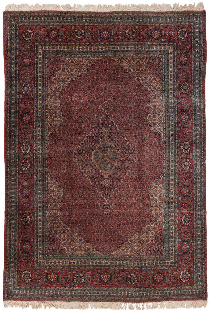 Very Fine, Signed Persian Sarab Carpet at Essie Carpets, Mayfair London