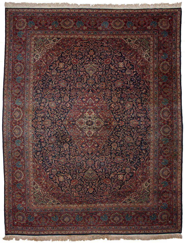 Fine Persian Kashan Carpet at Essie Carpets, Mayfair London