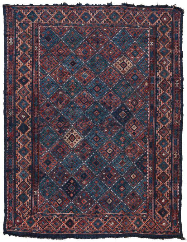 Persian Soumak Verne Kilim at Essie Carpets, Mayfair London