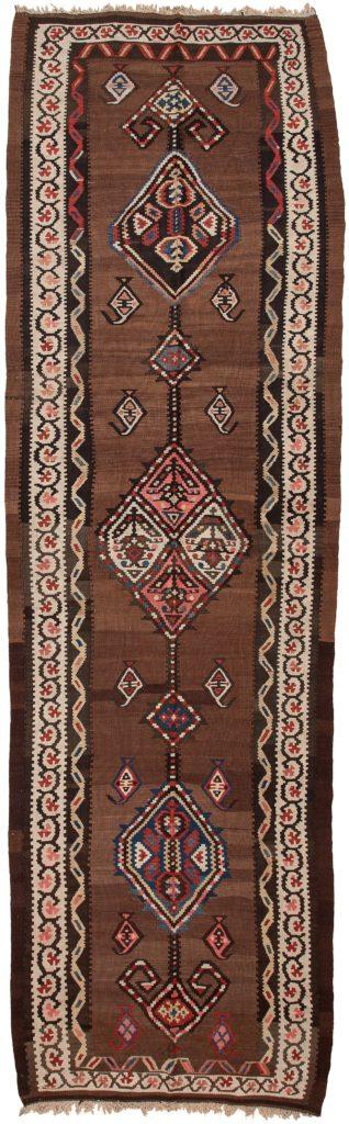 Persian Qashqai Kilim Runner Kilim at Essie Carpets, Mayfair London