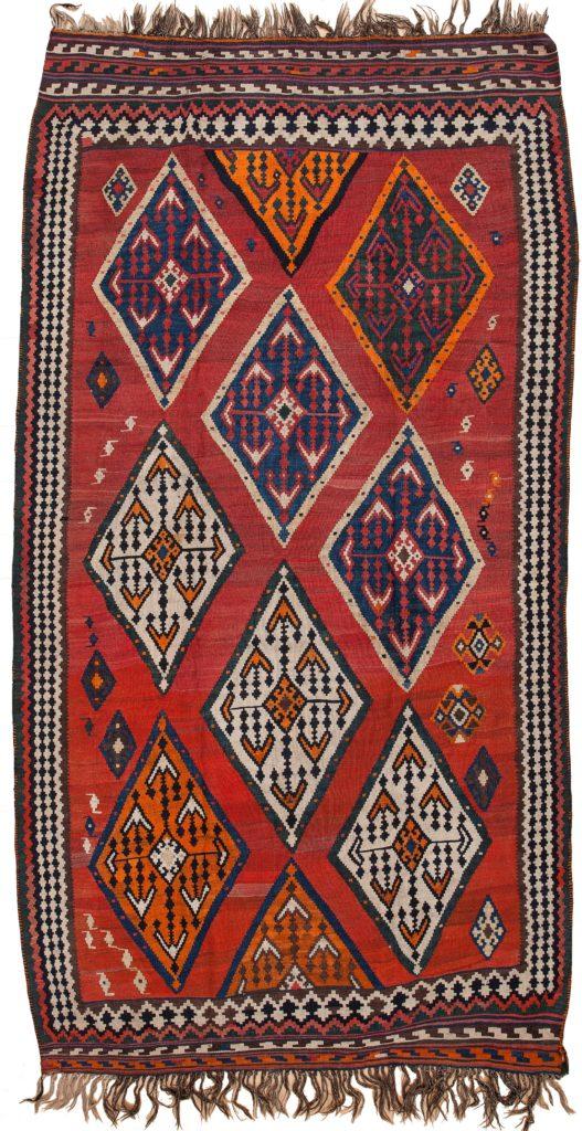 Persian Qashqai Kilim Kilim at Essie Carpets, Mayfair London