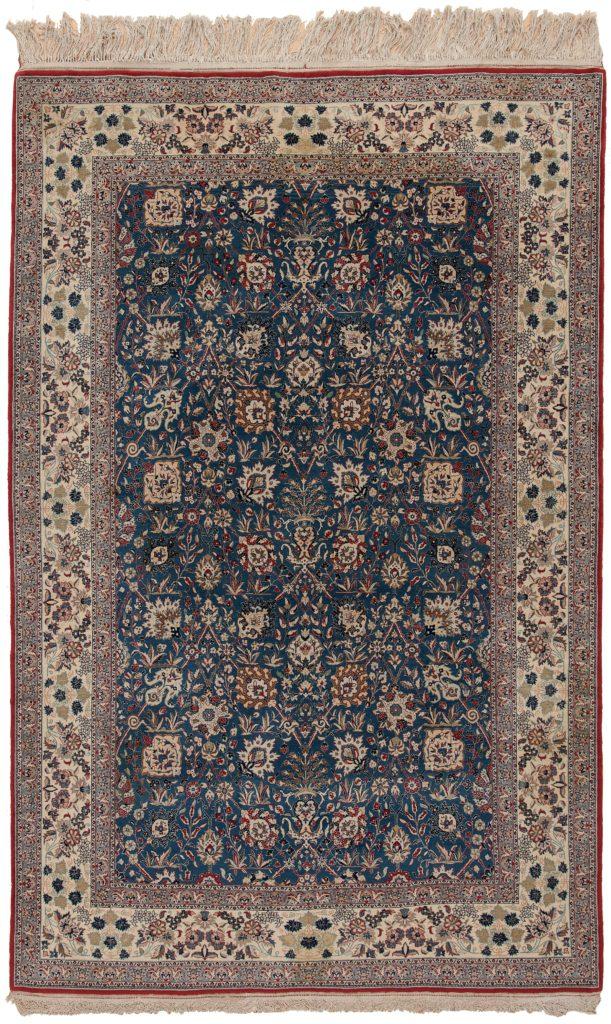 Old Nain Tudeshk Rug at Essie Carpets, Mayfair London