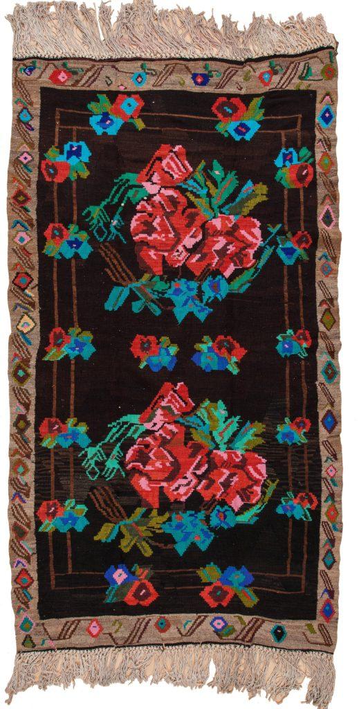 Gol Farangi Kilim at Essie Carpets, Mayfair London