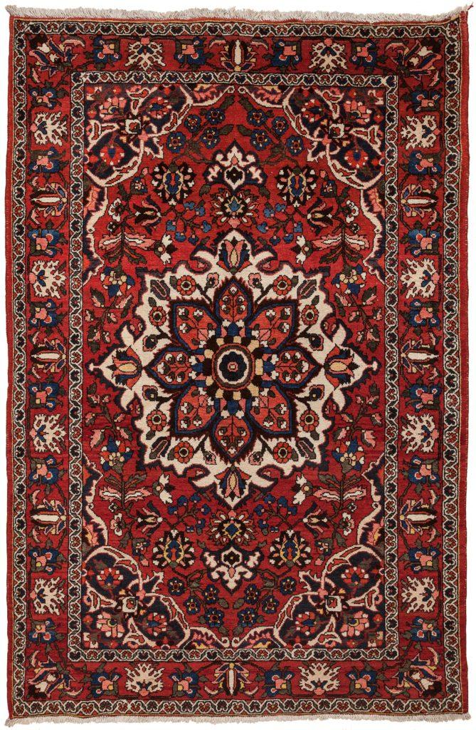 Persian Bakhtiari Rug at Essie Carpets, Mayfair London