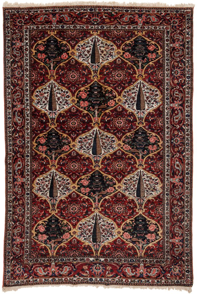Very Fine Persian Bakhtiari Rug at Essie Carpets, Mayfair London