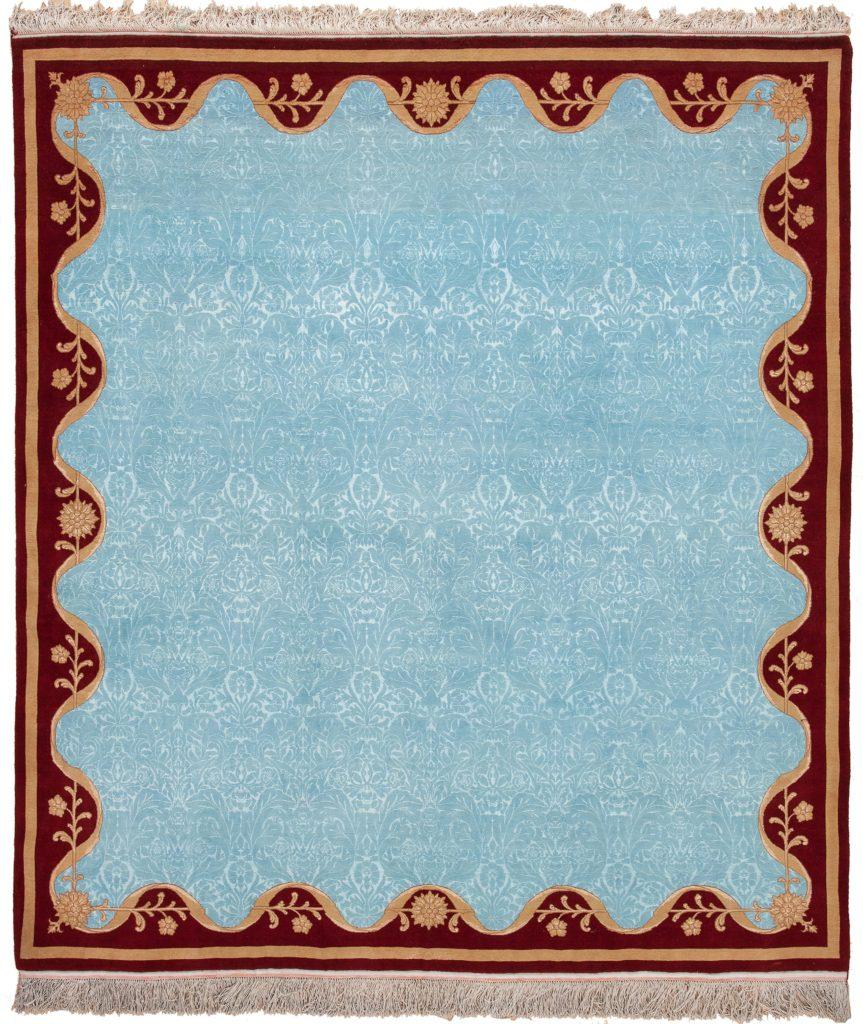 Very Fine Unusual Persian Tabriz Rug at Essie Carpets, Mayfair London