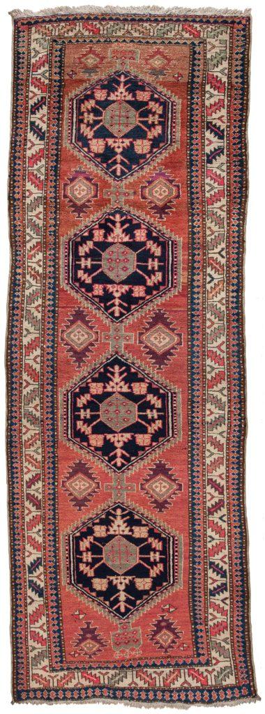 Old Persian Hamadan Runner Runner at Essie Carpets, Mayfair London