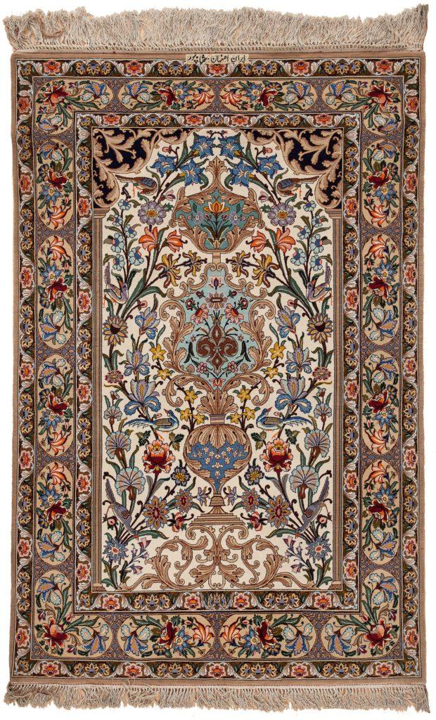 Persian Esfahan Rug at Essie Carpets, Mayfair London