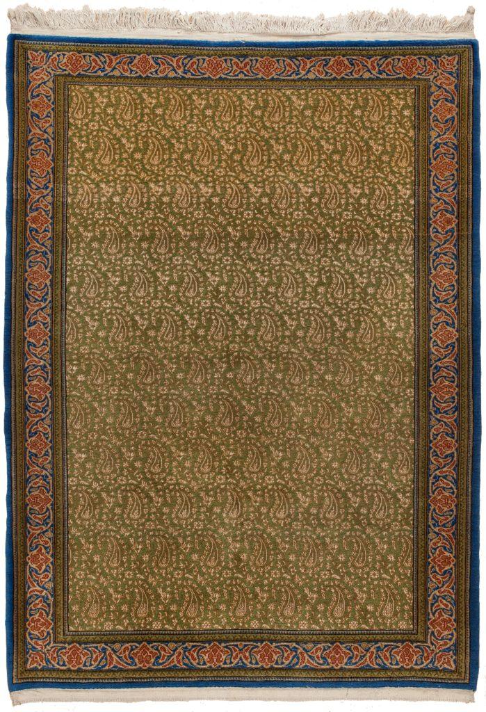Fine Persian Qum Rug at Essie Carpets, Mayfair London