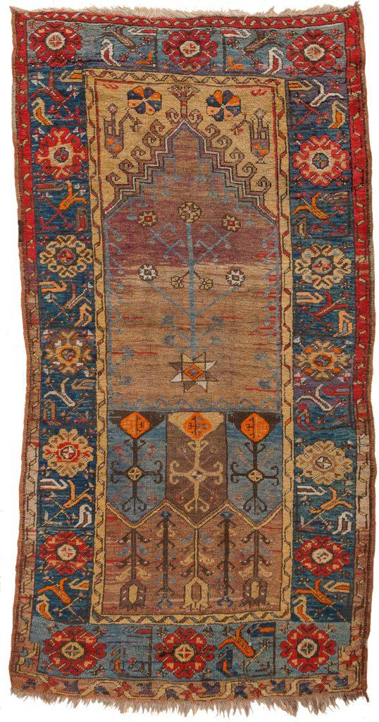 Antique Turkish Runner at Essie Carpets, Mayfair London