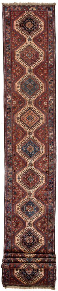 Persian Yalameh Runner at Essie Carpets, Mayfair London