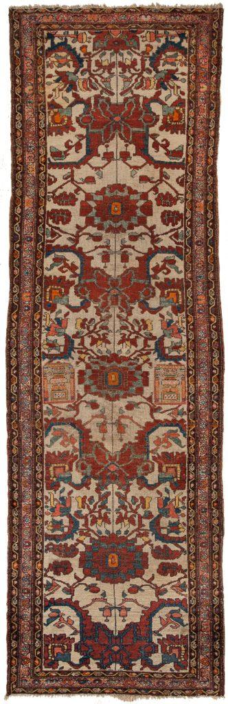 Old Persian Malayer Kilim I Runner at Essie Carpets, Mayfair London