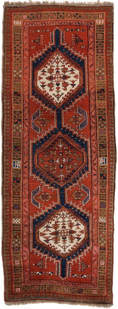 Antique Persian Sarab (Serab) Runner at Essie Carpets, Mayfair London