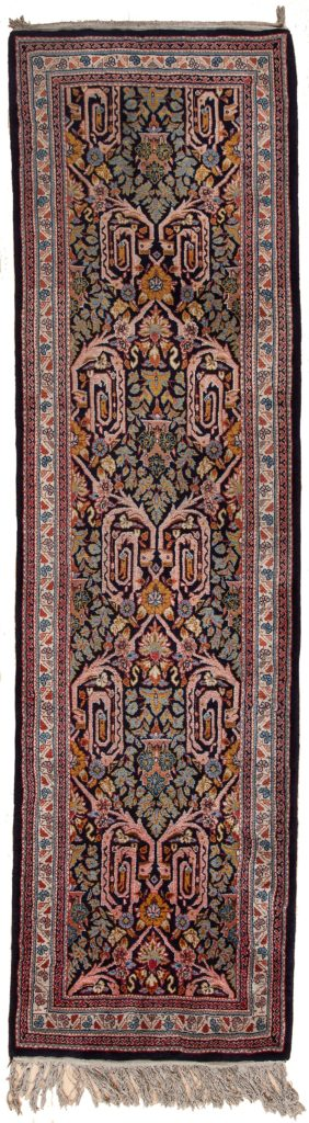 Persian Saruk Runner at Essie Carpets, Mayfair London