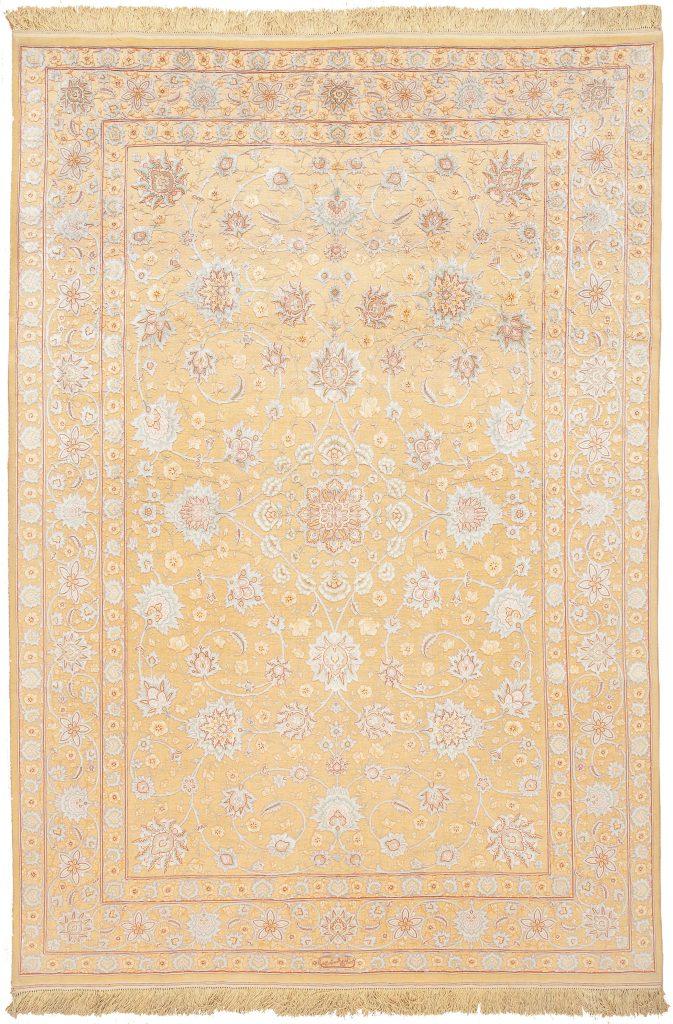 Persian Tabriz Signed Rug at Essie Carpets, Mayfair London