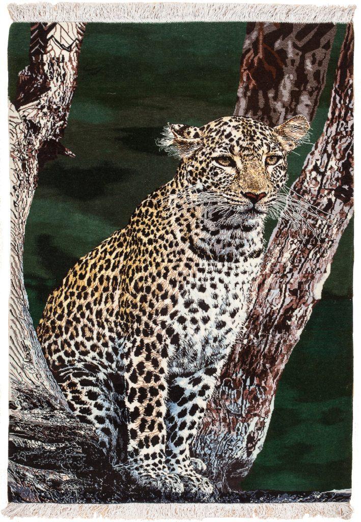 Very Fine Leopard Rug at Essie Carpets, Mayfair London