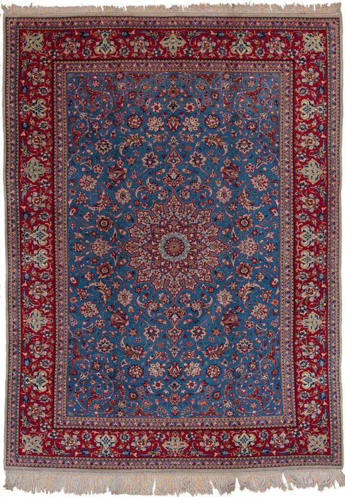 Persian Esfahan Carpet at Essie Carpets, Mayfair London