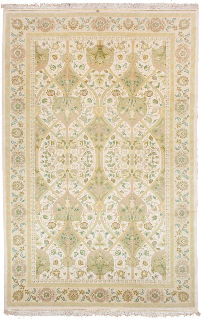 Very Fine Persian Tabriz Signed  Carpet at Essie Carpets, Mayfair London