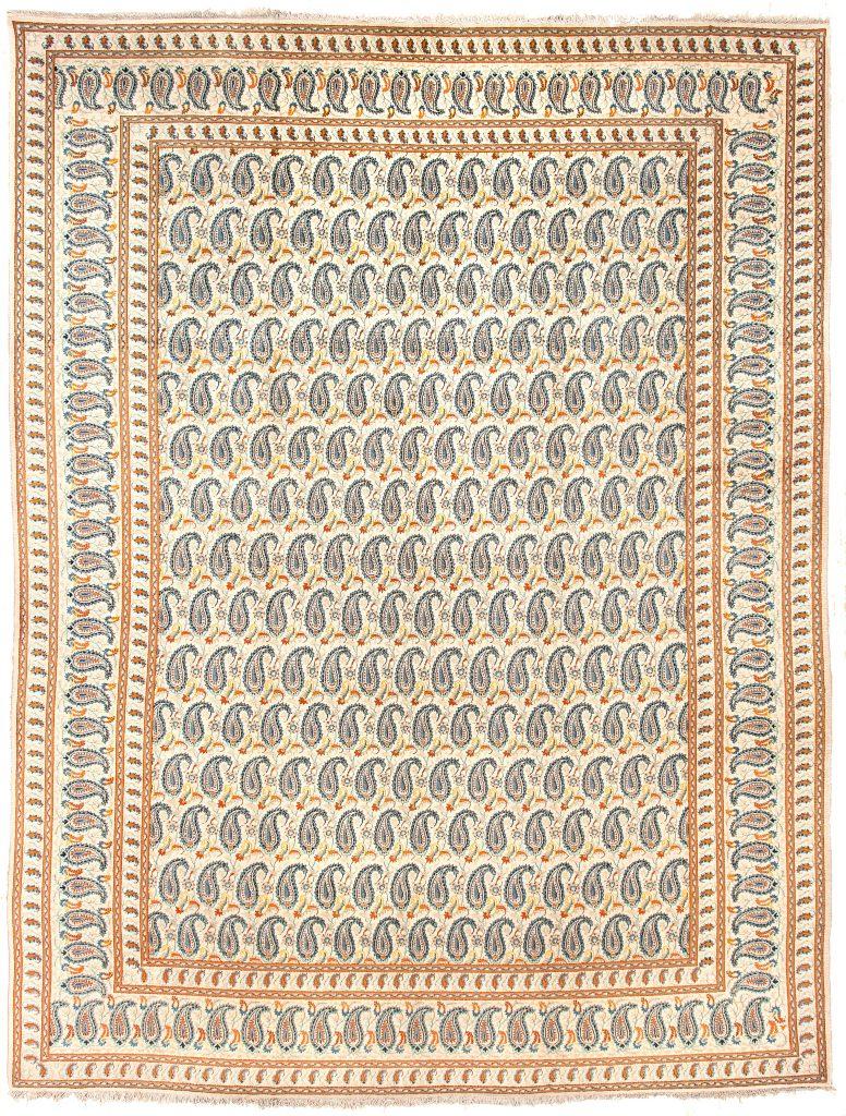 Persian Kashan Carpet at Essie Carpets, Mayfair London