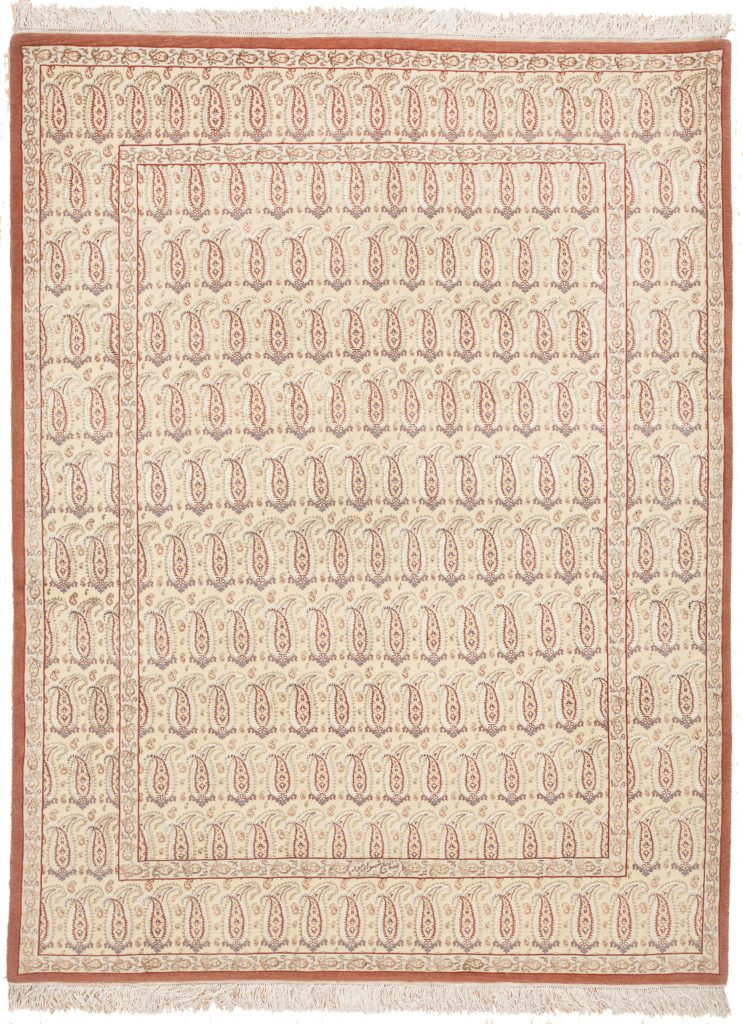 Fine Signed Tabriz Rug at Essie Carpets, Mayfair London