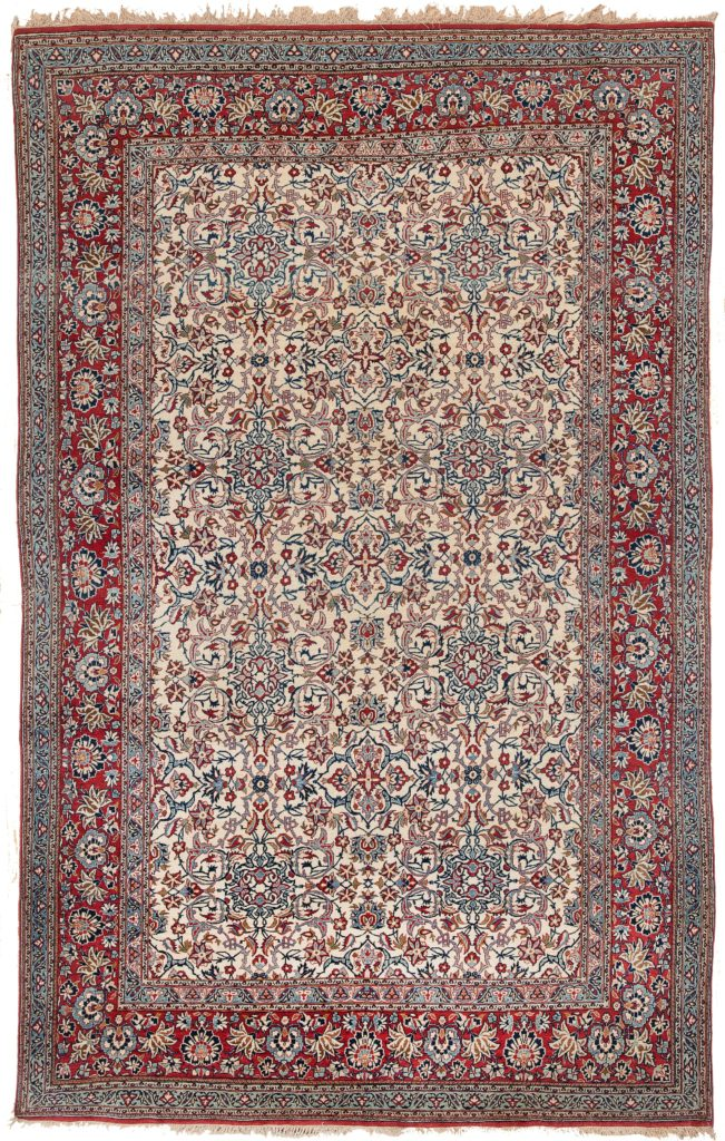 Persian Nain Toudesh Rug at Essie Carpets, Mayfair London