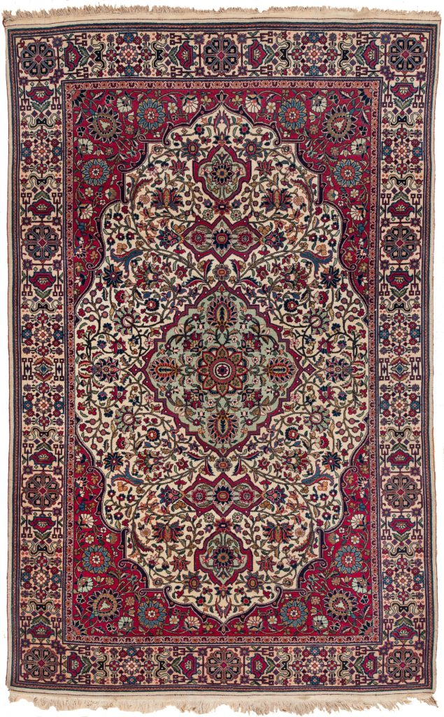 Old Persian Tehran  Rug at Essie Carpets, Mayfair London