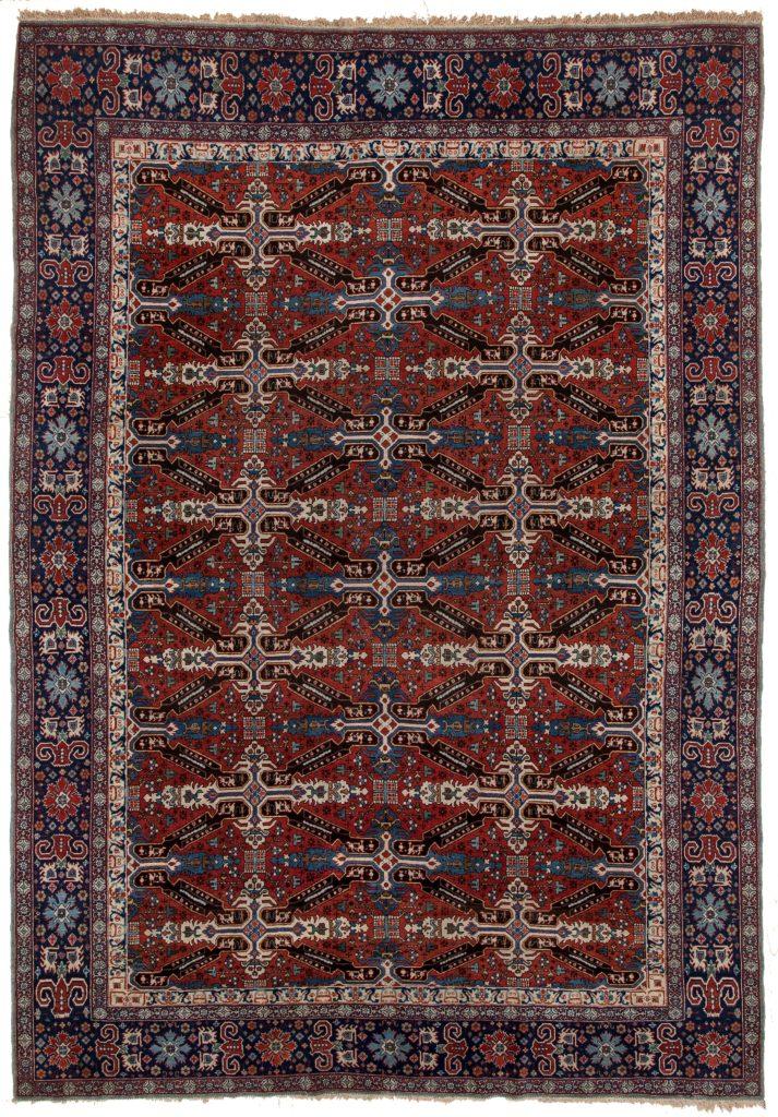 Fine Old Qum Rug at Essie Carpets, Mayfair London