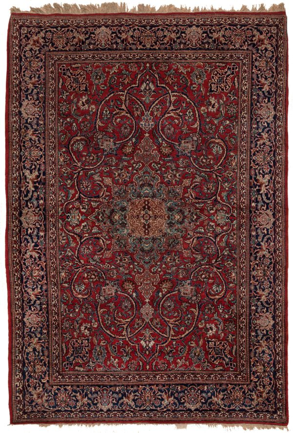 Very Fine Persian Toudeshk Rug at Essie Carpets, Mayfair London