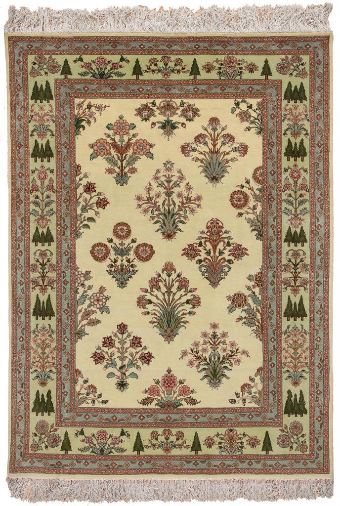 Persian Tabriz Rug at Essie Carpets, Mayfair London