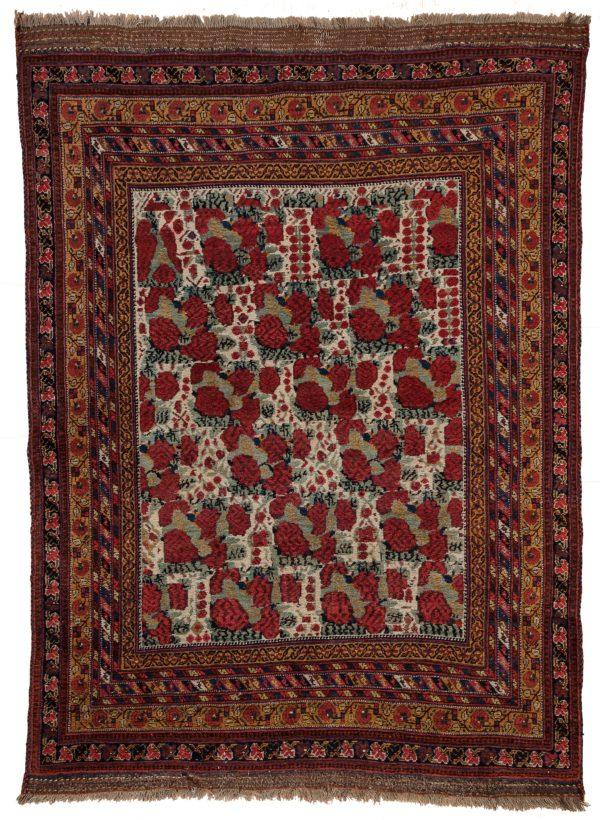 Afshar Neyriz Rug at Essie Carpets, Mayfair London