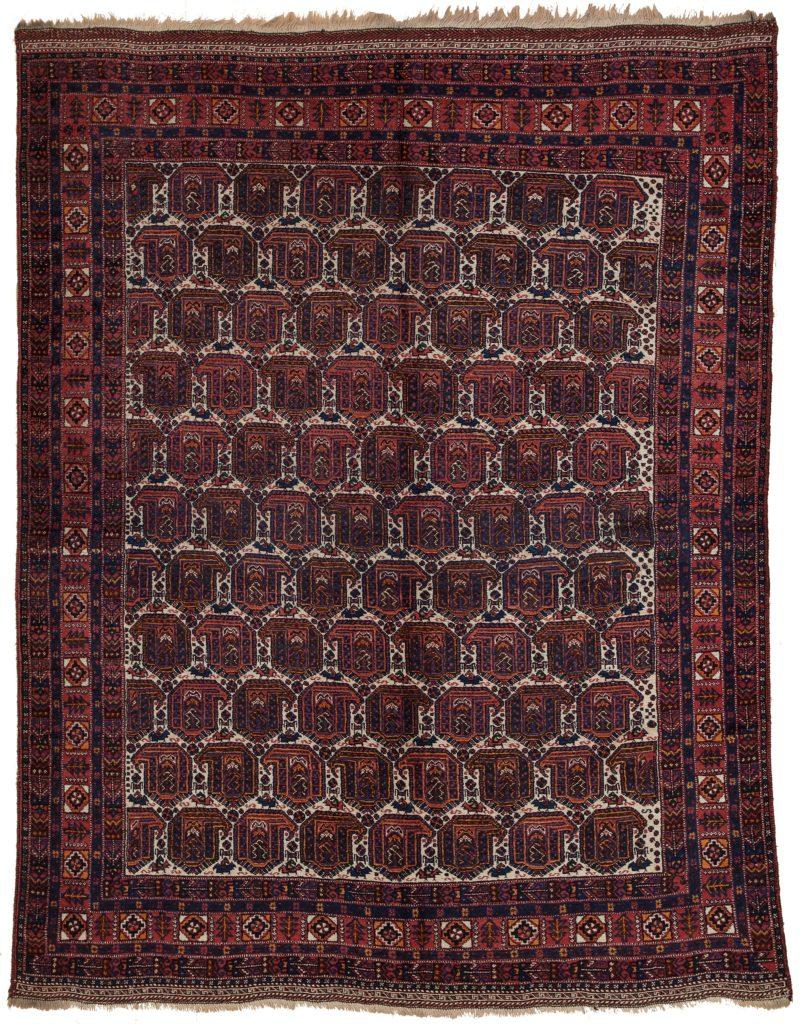 Old Afshar Rug at Essie Carpets, Mayfair London