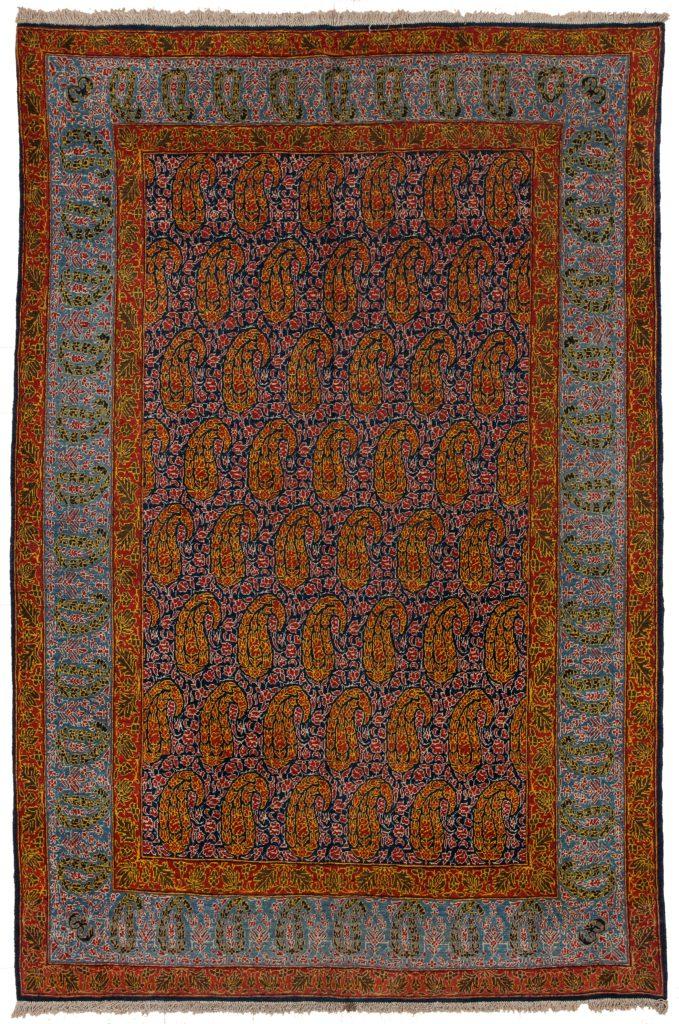 Exquisite Fine Old Qum Rug at Essie Carpets, Mayfair London