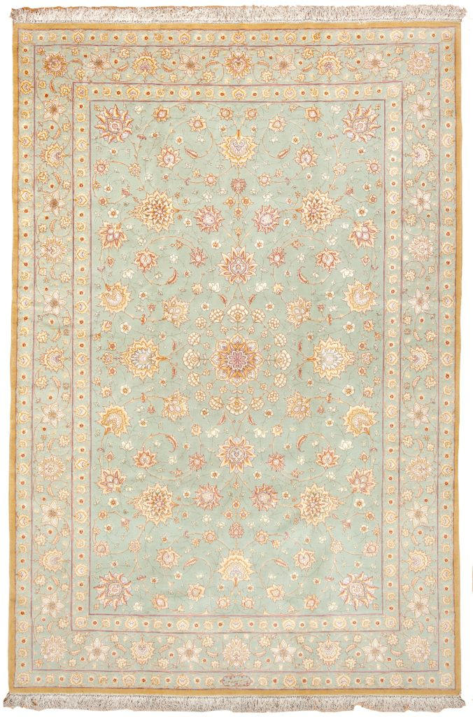 Extremley Fine Tabriz Rug at Essie Carpets, Mayfair London