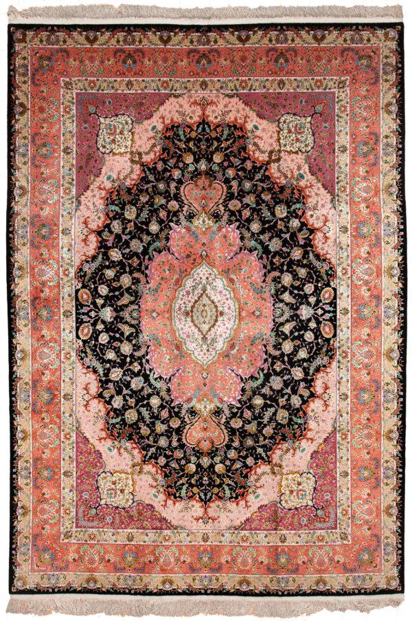 Very Fine Tabriz Carpet at Essie Carpets, Mayfair London