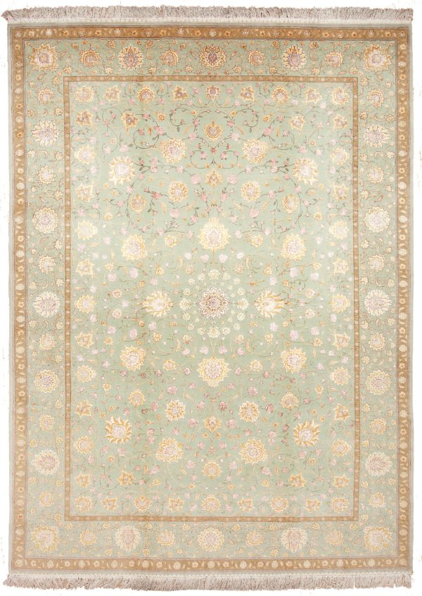Fine Persian Tabriz Carpet at Essie Carpets, Mayfair London