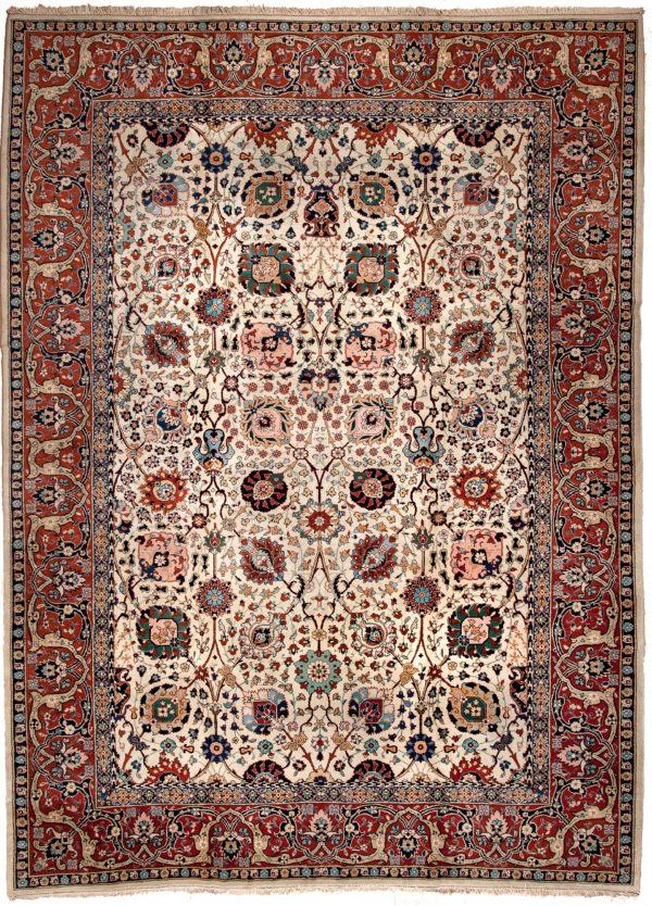 Charming Old Tabriz  Carpet at Essie Carpets, Mayfair London