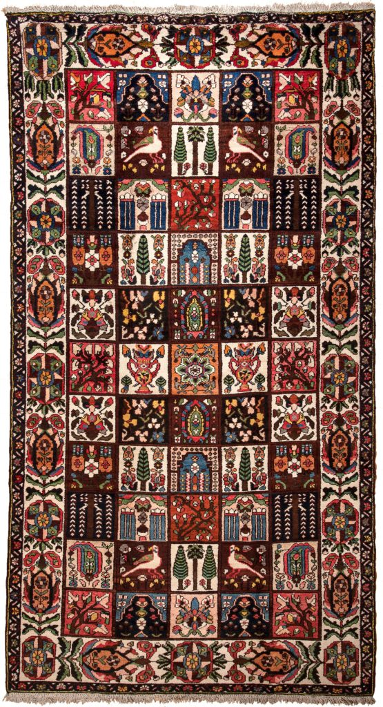 Old Bakhtiari  Rug at Essie Carpets, Mayfair London