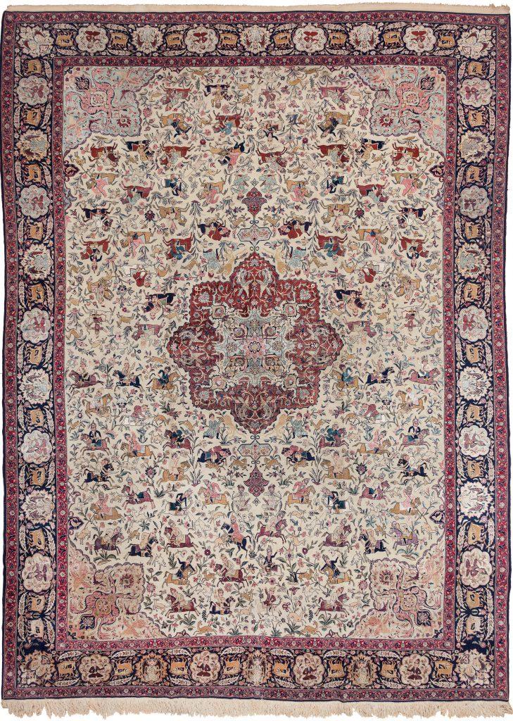 Exquisite Persian Tehran  Carpet at Essie Carpets, Mayfair London