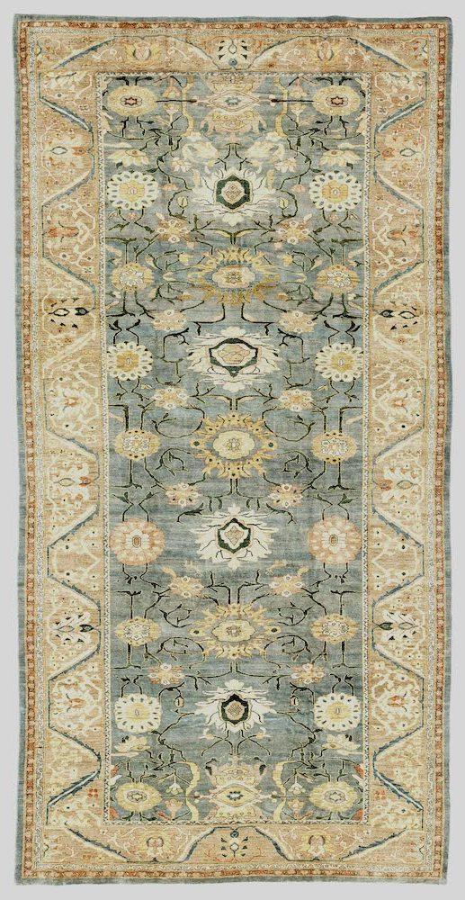Fine Persian Mahal Extra Large Carpet at Essie Carpets, Mayfair London